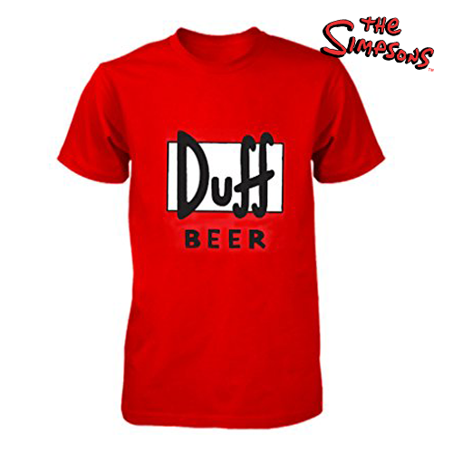 Duff Beer T-Shirt - Damen