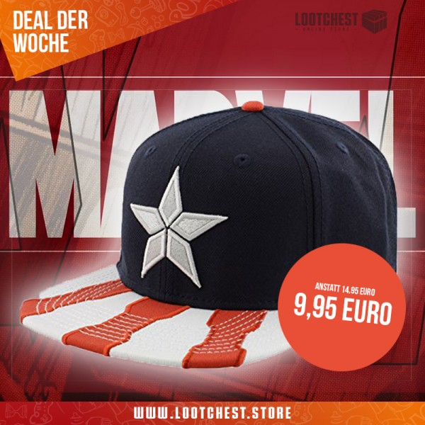 Marvel - Captain America 3 Civil War Snapback