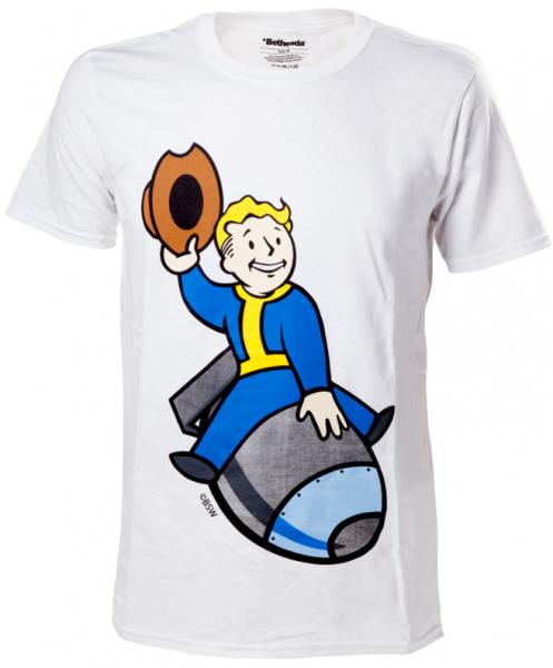 Fallout 4 - Vault Boy Bomber T-Shirt