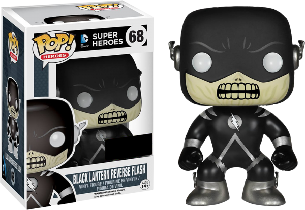 Funko PoP! Heroes - Flash - Black Lantern Reserve Flash (exklusiv)