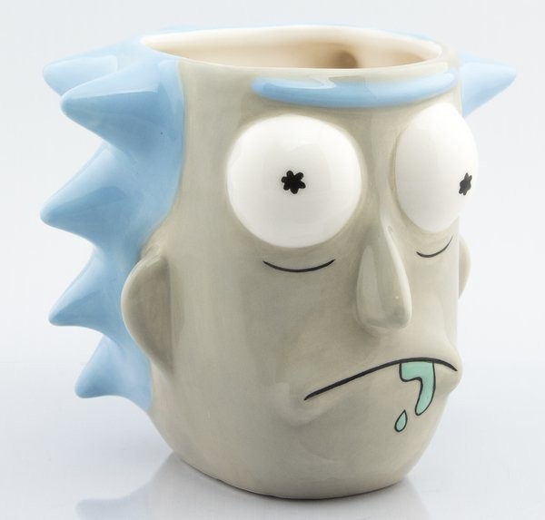 Rick and Morty - Rick Sanchez 3D Tasse