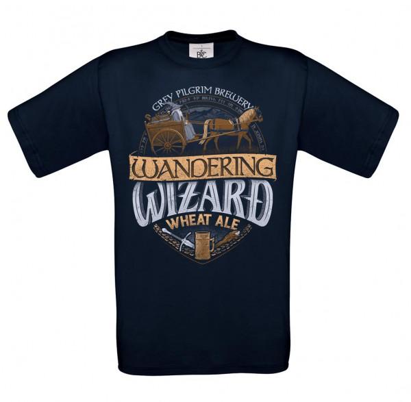 Wandering Wizard - Gandalf T-Shirt - Herren