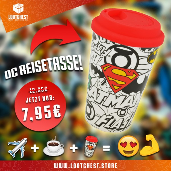 Justice League - Travel Mug