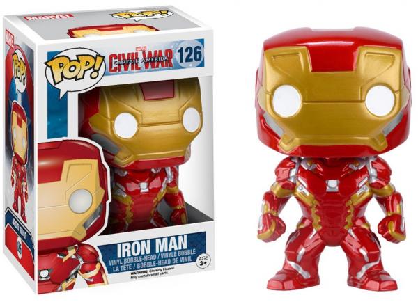 Funko PoP! Marvel - Captain America 3 - Iron Man