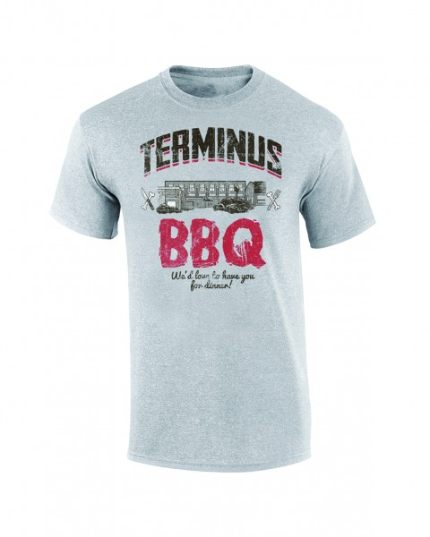 The Walking Dead - Terminus BBQ - T-Shirt - Damen