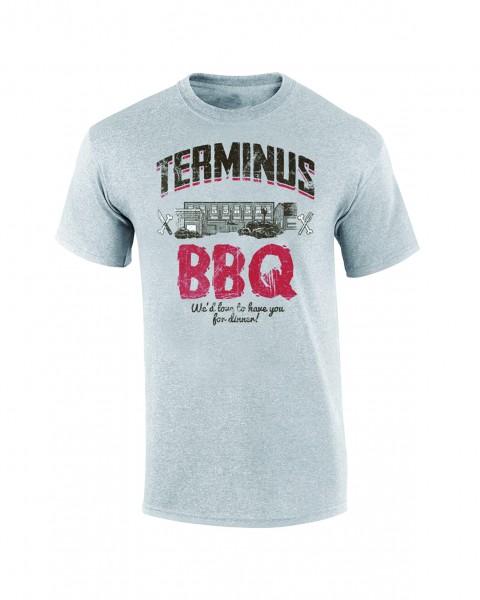 The Walking Dead - Terminus BBQ - T-Shirt - Herren