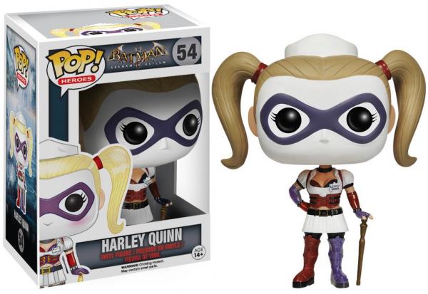 Funko PoP! Heroes - Batman Arkham Asylum - Harley Quinn