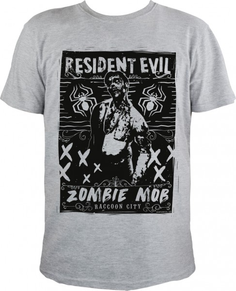 Resident Evil - Zombie Mob T-Shirt