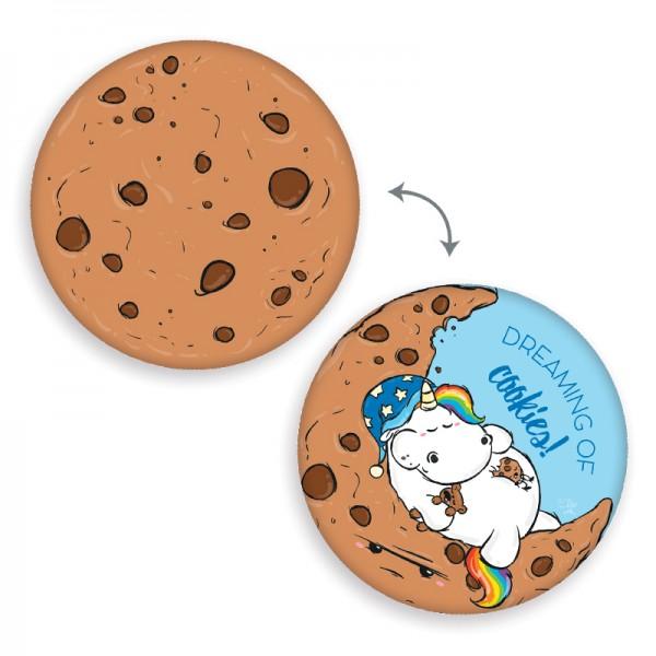 Shaped Wende-Kissen Pummeleinhorn - Cookie